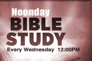 Noonday Bible Study @ Carlson MetroCenter YMCA | Rochester | New York | United States