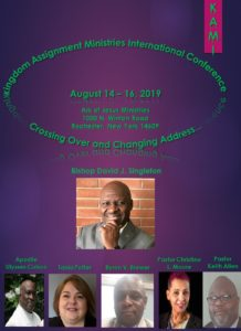 Kingdom Service Development Conference 2019 @ Ark Of Jesus Ministries